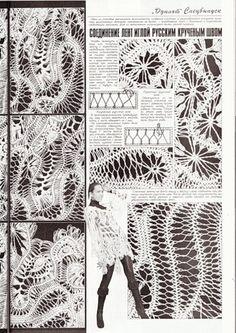hairpinlace + crochet. russo con buoni schemi!