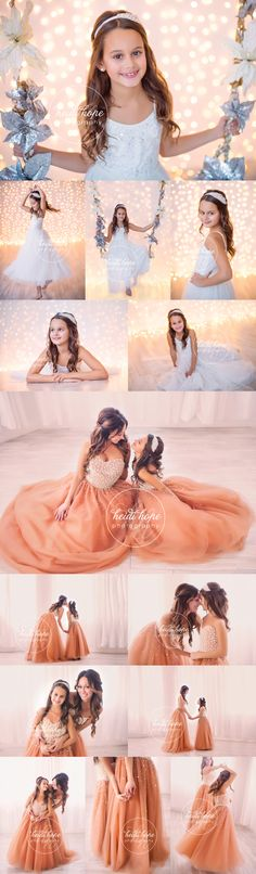 L and S, a Mother-Daughter Shoot | Heidi Hope Photography /// These photos are beautiful...I love the ones with the matching dresses