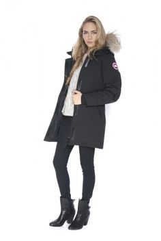 Canada Goose mens online fake - Doutzen Kroes in Canada Goose! Cycling through Amsterdam in her ...