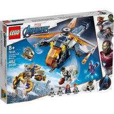 LEGO Super Heroes Marvel Avengers Hulk Helicopter Rescue 76144 - New Ideas Lego Marvel's Avengers, Lego Batman, Lego Hulk, Lego Technic, Lego Ninjago, Sith, Lego Sets, Infinity War, Black Widow And Hulk