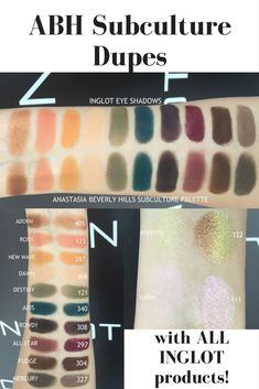 ABH Subculture Dupes