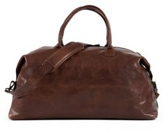 6816ceb88a This is the best leather weekend bag you can buy. The Benedict is made from  the finest Moore   Giles leather.