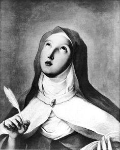 St Theresa of Avila Canvas Art - Francisco De Goya x Spanish Painters, Spanish Artists, St Theresa Of Avila, Francisco Jose, Les Religions, Mystique, Catholic Saints, Old Master, Religious Art
