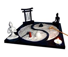 Giardino Zen Yin Yang Bio Luce (BL32000), oggettistica - Naturetica