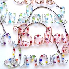 beaded wire names