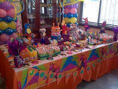 fiesta backyardigans Birthday Table, 2nd Birthday Parties, Bday Girl, Pirate Party, First Birthdays, Baby Shower, Marshmallows, Aspen, Pirates