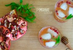 Pomegranate cooler in Barbados - Perfectly balanced with sweet honey ...