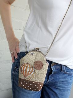 Small Crossbody Bag iPhone 7 wallet crossbody Air Balloons iPhone 6s Plus Double Pockets Purse Shoulder iPhone 7 case Crossbody Linen Maps by LovekaHandmade on Etsy https://www.etsy.com/listing/187297285/small-crossbody-bag-iphone-7-wallet