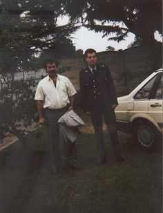 SAAF. MY FIRST PASS FROM BASICS 1988. ME AND THE OLD MAN.