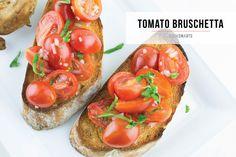 July 4th Side Dish: Tomato Bruschetta via @CookSmarts #recipe