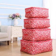 Home Comforter Storage Bags Dust Covers Clothing Bedding Toys Wardrobe Organization Collation  Accessories Supplies Item Product