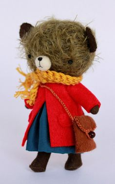 Wonderful teddy with wardrobe and more - Nilly - Manomine