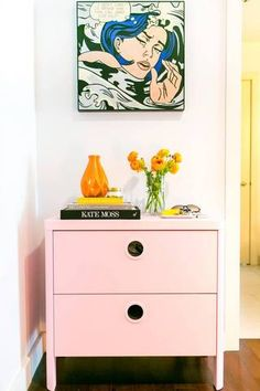 see inside a colorful, tiny studio apartment located in L.A.