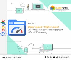 "If you are looking to rank your website on top of Google, you must implement different aspects in the point of #SEO. You should know that ""Website Loading Speed"" plays an important role in ranking your website. Google understands that high-speed website delivers a great user experience and it's one of the key factors to rank your website on top of Google results. #websitespeed #seositespeed #cubereach"