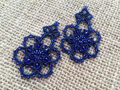 lace earrings mystery by SvitLanu on Etsy