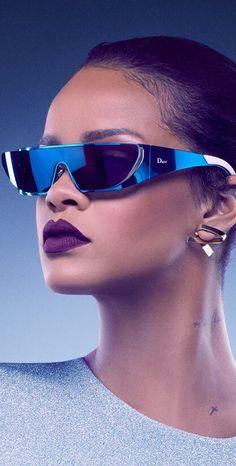 Rihanna by Jean-Baptiste Mondino for Dior x Rihanna Eyewear 2016 9089f342a871
