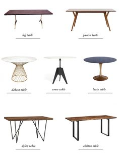 dining table guide // smitten studio