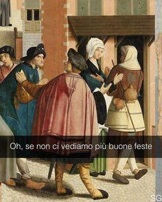 Le sette tavole della misericordia - Maestro di Alkmaar (1504) #stefanoguerrera #seiquadripotesseroparlare