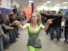 AMAZING high school includes entire student body and staff in lip fun video dedicated to a staff member battling cancer.