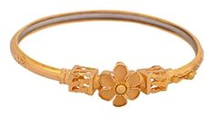 Buy Senco Gold Aura Collection 22k Yellow Gold Bangle Online at Low Prices in India   Amazon Jewellery Store - Amazon.in Gold Bangles, Jewelry Stores, Bracelets, Stuff To Buy, Bracelet, Arm Bracelets, Bangle, Bangles, Anklets