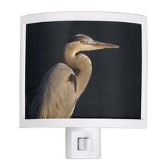 Great Blue Heron Nightlight - animal gift ideas animals and pets diy customize