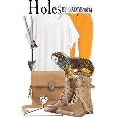 """""""Holes"""" by lalakay on Polyvore #disney"""
