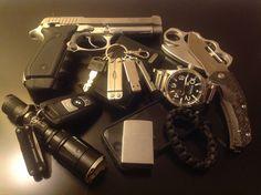 PT59T, Nixon Watch, Brous Blades Reloader, Nitecore SRT6