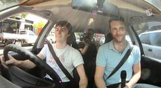 triple j's Alex Dyson Learns To Drive!, via YouTube. lol
