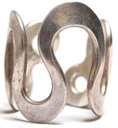 Anna Greta Eker Norwegian Sterling Silver Ring