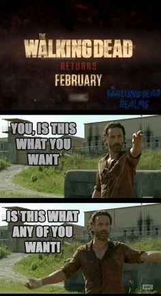 The Walking Dead // Noooooo