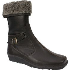 Price: $128.95    Comfort is just a step away!Waterproof leather uppers and real shearling fur lining to keep your feet warm, dry and comfortable.Removable footbed comes out easily to better care for you foot's health.Insole is machine washable.