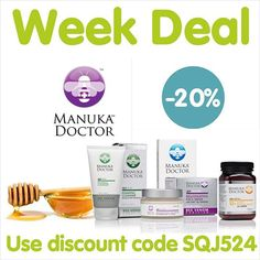 ➡️ http://www.iherb.com/manuka-doctor?rcode=sqj524 This week save 20% on purchases Manuka Doctor's production. The unique honey from New Zealand derived from manuka bush has a unique composition for health and longevity. Cosmetic brand products also contain this unique component and help prolong youthfulness of the skin.