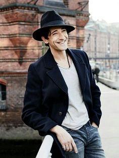 Adrien Brody. Pure perfection