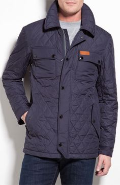 Hunter Waterproof Quilted Jacket