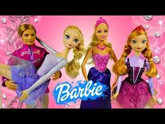 Frozen Ballerina Elsa Anna Barbie Pink Shoes Dancing Stage Land of Sweets Movie Toys