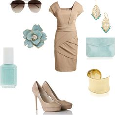 Going to a wedding outfit