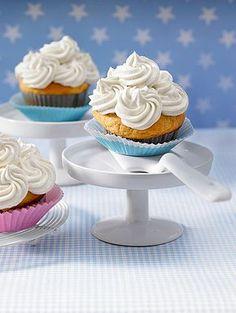 Vanille - Frischkäse - Frosting / Vanilla Cream Cheese Frosting, perfekt für Cupcakes und Muffins