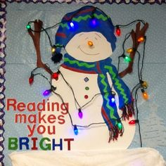 Winter Classroom Door Decorations Library Displays Ideas For 2019 Christmas Bulletin Boards, Reading Bulletin Boards, Winter Bulletin Boards, Bulletin Board Display, Classroom Bulletin Boards, Classroom Door, Classroom Ideas, Preschool Bulletin, Preschool Class