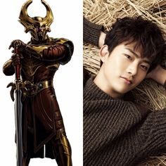 Norse Zodiac // Heimdall // Taecyeon of 2PM