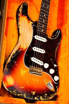 Fender Custom Shop Cunetto John Mayer esque Sunburst Relic Stratocaster Strat