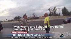 Motorcycle rider takes the law into his own hands by chasing this hit-and-run driver : Worldwide Breaking News Friday, August Running, Racing, Keep Running, Track