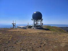 Sawtelle Peak FAA radar dome, Island Park, Idaho by RocDocTravel.com
