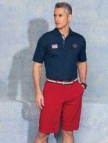 Oak Hill by DXL Big and Tall Madras Plaid Sport Shirt