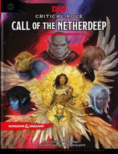 Critical Role: Call of the Netherdeep Role Call, Wizards Of The Coast, Geek Culture, Dungeons And Dragons, Campaign, Geek Stuff, Creatures, Geek Things