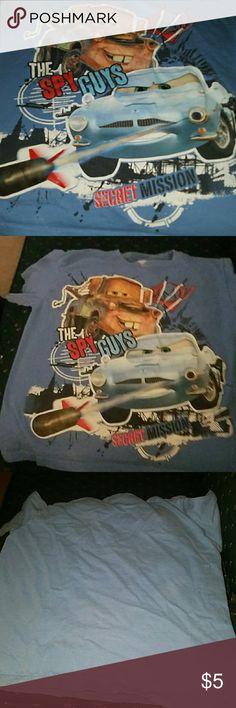Boys cars tee Spy guys cars tee.  Like new condition Shirts & Tops Tees - Short Sleeve