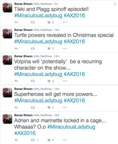"""miraculousdaily: """" tweets from someone in the panel PART 2 (x) """""""