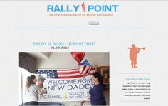 Rally Point Blog - a blog for military photographers to find inspiration. Featuring Lizvette Wreath Photography's Birth Story