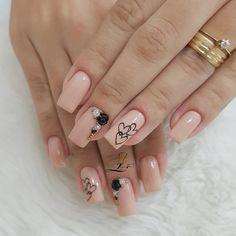Sexy Nails, 3d Nails, Cute Nails, Spring Nail Art, Spring Nails, 3d Nail Art, Nail Arts, Luxury Nails, Heart Nails