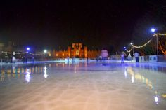 (PHOTO: Unknown)  Get your skates on! Best ice rinks for winter fun:  Hampton Court Palace, Richmond-on-Thames 25 November 2016 - 8 January 2017 (With open-air ice skating, setting is everything. At Hampton Court Palace you can skate against a picture-perfect backdrop and marvel at the famous maze and gardens all silvered with frost. The rink is just outside the West Front of the palace, so you can enjoy stunning panoramic views and an enchanting Christmas atmosphere. Tickets from £13.50…