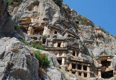 Lycian Rock Tombs - Ancient Turkey